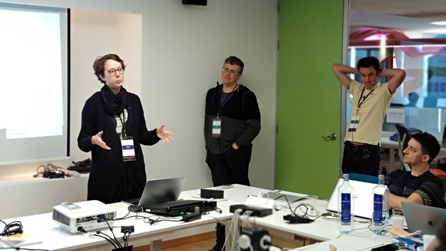 Camille Lamy, Colin Blundell and Robert Kroeger talking about Servicification